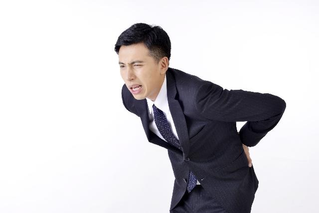 腰痛の人間