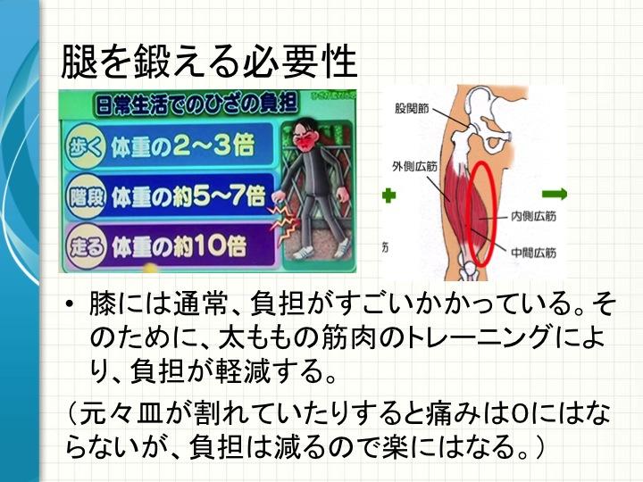 膝の痛み対策3