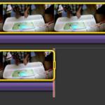 iMovieで動画に任意の音をつける手順6