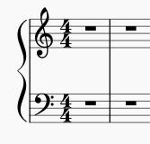まず普通にピアノ譜を作成します