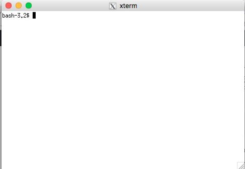 起動時の画面。これがでてる状態でFontForgeを起動させるとFontForgeが動く